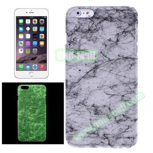 Fluorescent Silk Texture Hard PC Case for iPhone 6 4.7 inch (Black)