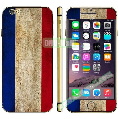 Flag Pattern Mobile Phone Decal Stickers for iPhone 6 (Dutch Flag)