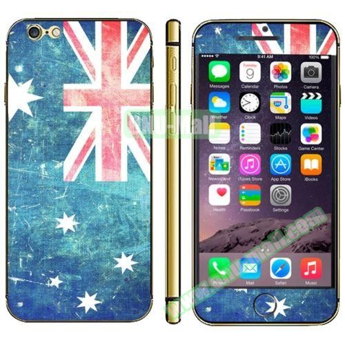 Flag Pattern Mobile Phone Decal Stickers for iPhone 6 (Australian Flag)