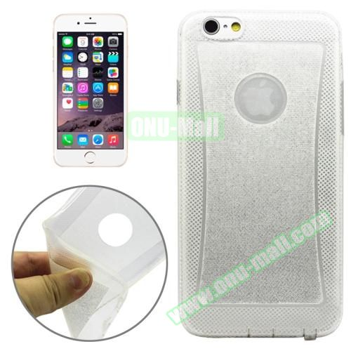 Shiny Powder TPU Case for iPhone 6 4.7 (White)