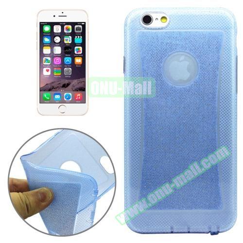 Shiny Powder TPU Case for iPhone 6 4.7 (Blue)