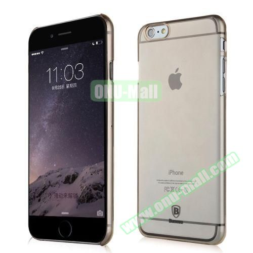Baseus Ultra-thin Transparent Hard Sky Case for iPhone 6 Plus 5.5 inch (Gray)