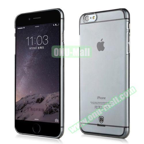 Baseus Ultra-thin Transparent Hard Sky Case for iPhone 6 (Black)