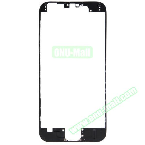 Front LCD Screen Bezel Frame for iPhone 6 (Black)