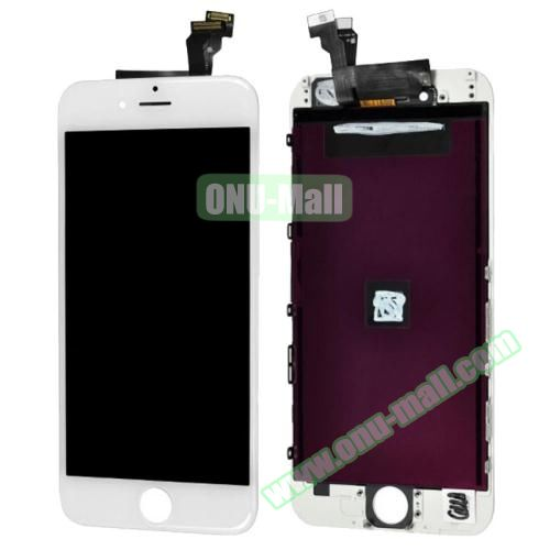 High Quality LCD Screen + Touch Screen Digitizer Assembly for iPhone 6 Plus (White)
