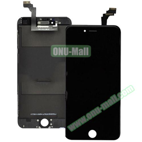 High Quality LCD Screen + Touch Screen Digitizer Assembly for iPhone 6 Plus (Black)