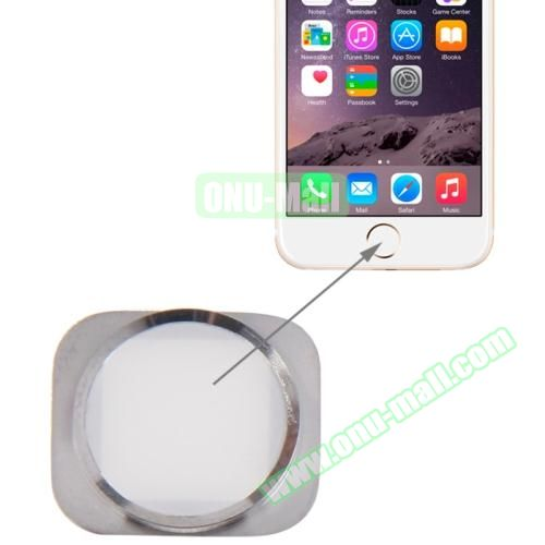 Home Button Repair Part for iPhone 6 (Silver+White)