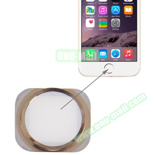 Home Button Repair Part for iPhone 6 (Gold+White)