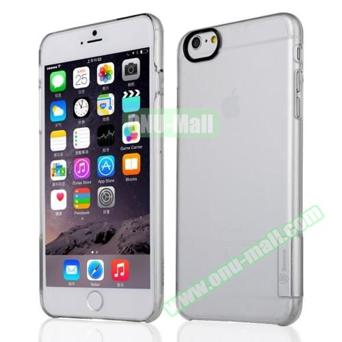 Baseus Ultra-thin Transparent Protective Sky Case for iPhone 6 Plus (Silver)