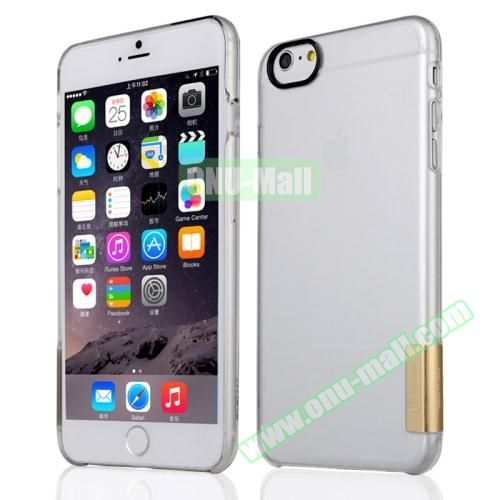 Baseus Ultra-thin Transparent Protective Sky Case for iPhone 6 Plus (Gold)