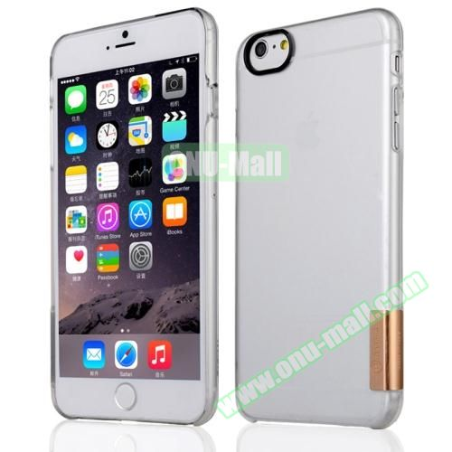 Baseus Ultra-thin Transparent Protective Sky Case for iPhone 6 Plus (Shiny Gold)