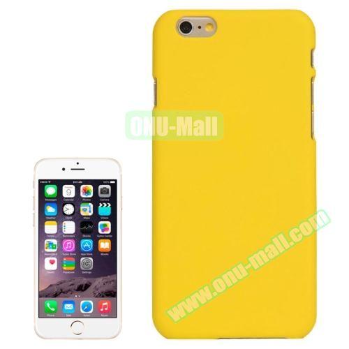UV Coating Thin Protective Hard Case for iPhone 6 Plus (White)