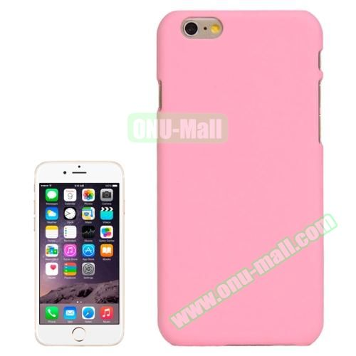 UV Coating Thin Protective Hard Case for iPhone 6 Plus (Pink)