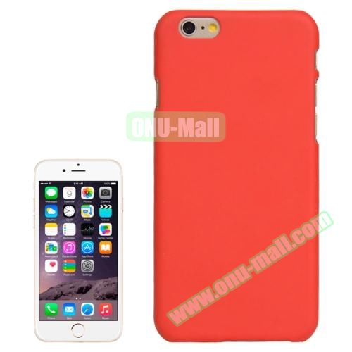UV Coating Thin Protective Hard Case for iPhone 6 4.7 inch (Red)