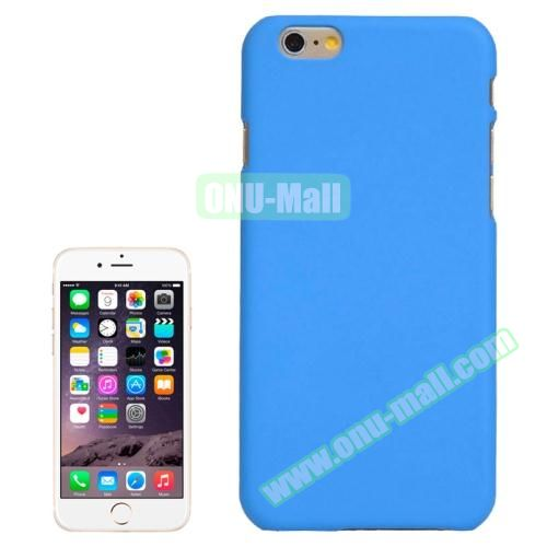 UV Coating Thin Protective Hard Case for iPhone 6 Plus (Blue)