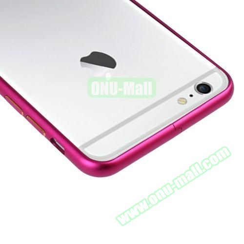 Arc Edge Aluminium Metal Bumper Frame Case For iPhone 6 Plus (Rose)