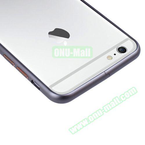 Arc Edge Aluminium Metal Bumper Frame Case For iPhone 6 Plus (Grey)