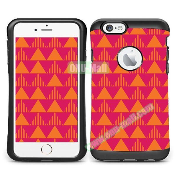 VERUS Colorful Pattern TPU + PC Hybrid Protective Case for iPhone 6 4.7 (ARROW)