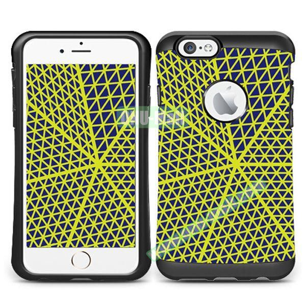 VERUS Colorful Pattern TPU + PC Hybrid Protective Case for iPhone 6 4.7 (EUCILID)
