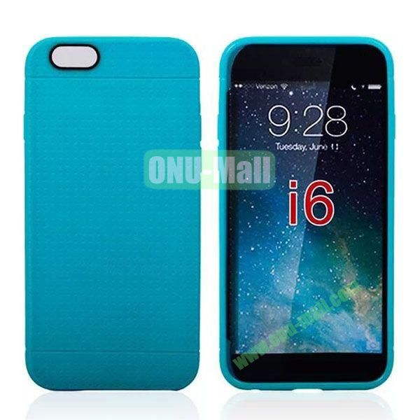 Hot Sale Honeycomb Holes Design TPU Case for iPhone 6 4.7 inch (Blue)
