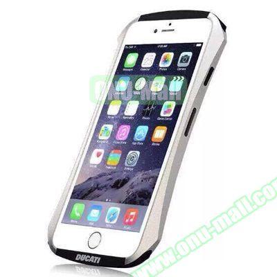 DUCATI Aircraft Aluminum Bumper Frame Case for iPhone 6 (White)