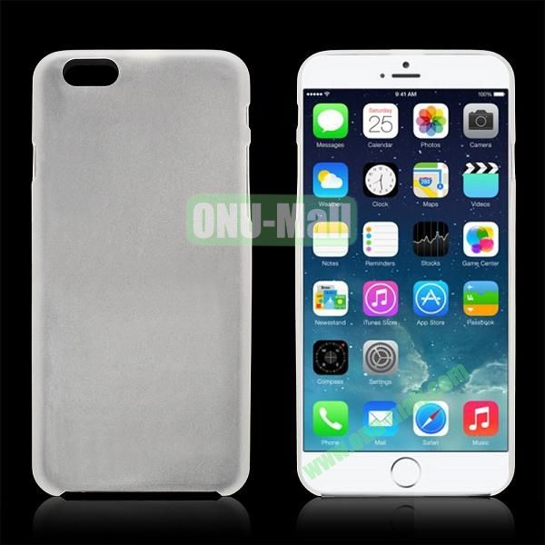 0.3mm Ultra-thin PC Plastic Hard Case Cover for iPhone 6 4.7 inch (White)