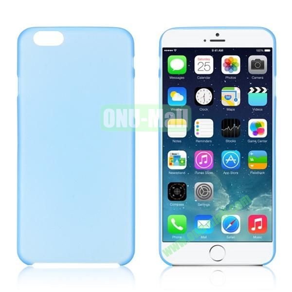 0.3mm Ultra-thin PC Plastic Hard Case Cover for iPhone 6 4.7 inch (Light Blue)