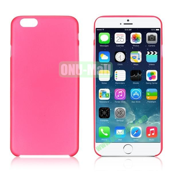 0.3mm Ultra-thin PC Plastic Hard Case Cover for iPhone 6 4.7 inch (Pink)