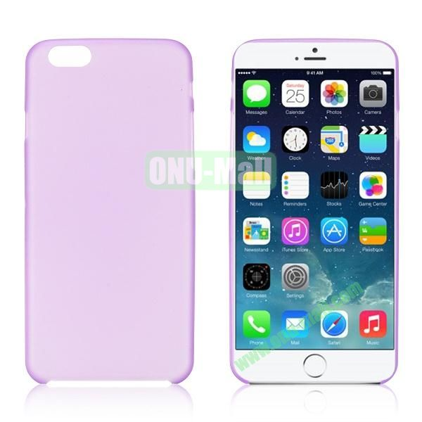 0.3mm Ultra-thin PC Plastic Hard Case Cover for iPhone 6 4.7 inch (Purple)