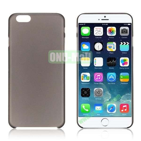 0.3mm Ultra-thin PC Plastic Hard Case Cover for iPhone 6 4.7 inch (Black)