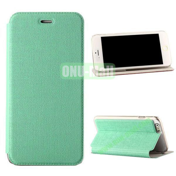 Oracle Texture Flip PC+PU Leather Case for iPhone 6 4.7 inch (Green)