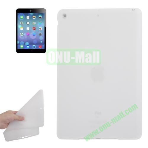 Anti-scratch Flexible Silicone Case for iPad Air (White)