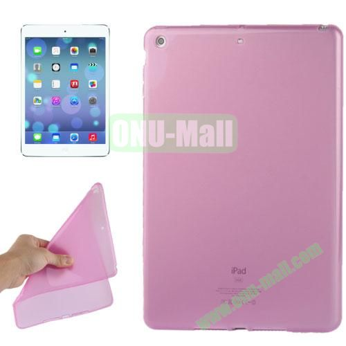 Smooth Surface TPU Protective Case for iPad Air (Pink)