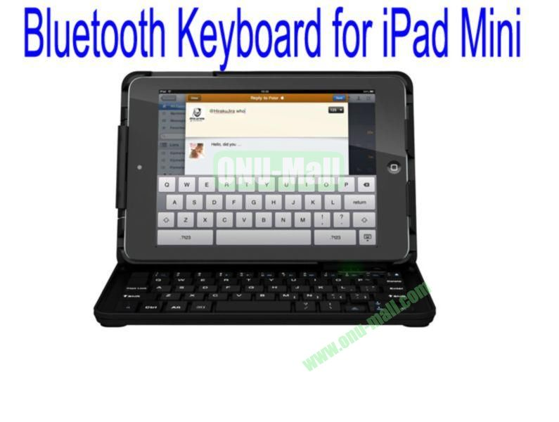 Slide Bluetooth Keyboard for iPad Mini with Stand