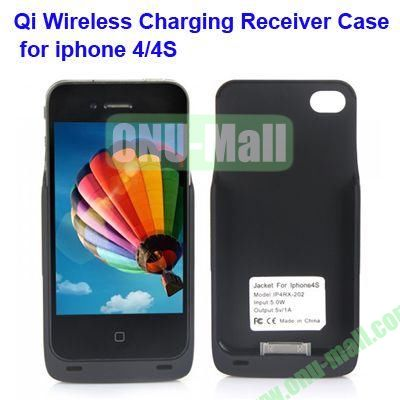 Qi Wireless Charging Receiver Case for iPhone 4/ 4S