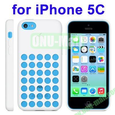 New Arrival TPU Offical Style Case for iPhone 5C(White)