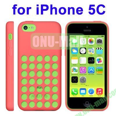 New Arrival TPU Offical Style Case for iPhone 5C(Pink)