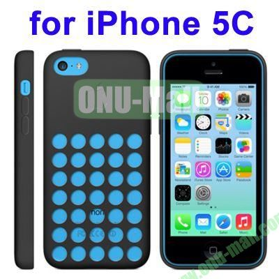New Arrival TPU Offical Style Case for iPhone 5C(Black)