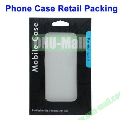 Color Box Retail Packing for iPhone 5S & 5C & 5 Cases (Size: 18.3 x 12.2 x 1cm)