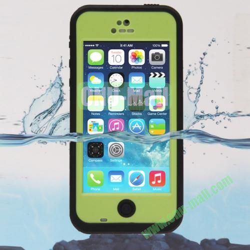 IPX68 ABS Material Snow-proof Shock-proof Waterproof Case for iPhone 5C (Green)