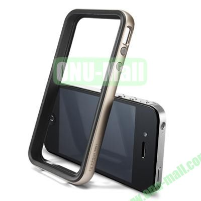 Neo Hybrid 2S Vivid Series Frame Case for iPhone 4S & 4 (Silver)