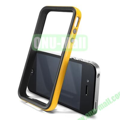 Neo Hybrid 2S Vivid Series Frame Case for iPhone 4S & 4 (Yellow)