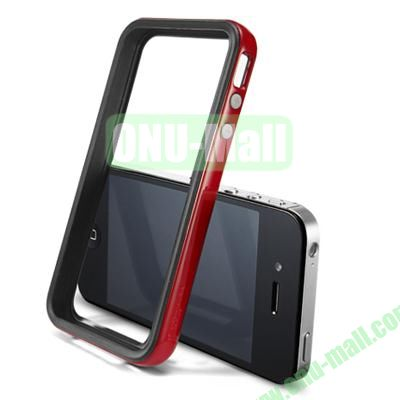 Neo Hybrid 2S Vivid Series Frame Case for iPhone 4S & 4 (Red)