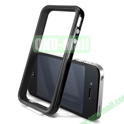 Neo Hybrid 2S Vivid Series Frame Case for iPhone 4S & 4 (Black)