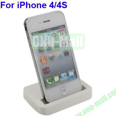 Desktop USB Charger Cradle Dock Station for iPhone 44S