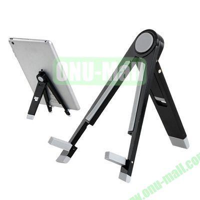 Metal Folding Triangle Stand Holder for iPad mini 2 Retina,iPad Mini, Samsung Galaxy Tab and 7 Tablet PC