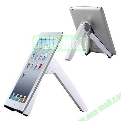 Metal Folding Triangle Stand Holder for iPad mini 2 Retina,iPad Mini, Samsung Galaxy Tab and 7 Tablet PC