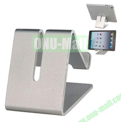Multifunctional Metal Stand Holder for  iPhone 6 5S iPad Mini, Samsung Note 4, HTC One M8 Mobile Phone and Tablet PC (Silver)