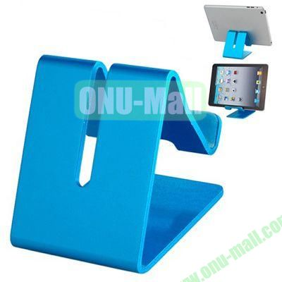 Multifunctional Metal Stand Holder for  iPhone 6 5S iPad Mini, Samsung Note 4, HTC One M8 Mobile Phone and Tablet PC (Blue)