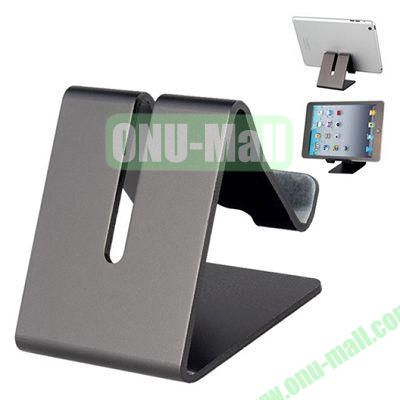 Multifunctional Metal Stand Holder for  iPhone 6 5S iPad Mini, Samsung Note 4, HTC One M8 Mobile Phone and Tablet PC (Grey)